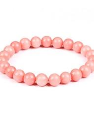 cheap -Women's Strand Bracelet / Bracelet - Bohemian, Fashion, Boho Bracelet Pink / Light Blue For Evening Party / Going out