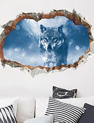 economico -Adesivi decorativi da parete - Adesivi murali animali Animali Salotto Camera da letto Bagno Cucina Sala da pranzo Sala studio / Ufficio