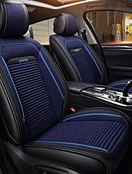 abordables -ODEER Couvre-siège Noir/Bleu Textile faux cuir Normal for Universel Toutes les Années Tous les modèles