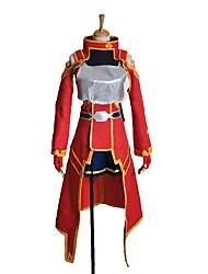 Недорогие -Вдохновлен Sword Art Online Косплей Аниме Косплэй костюмы Косплей Костюмы другое Длинный рукав Кофты Юбки Перчатки Носки Больше
