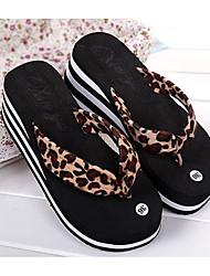 cheap -Women's Shoes EVA Summer Comfort Slippers & Flip-Flops Wedge Heel for Leopard