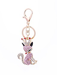 cheap -Keychain Jewelry Pink Fox Alloy Ordinary Fashion Gift Daily