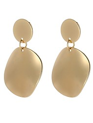 cheap -Women's Drop Earrings - Simple, Fashion Gold For Party / Evening / Evening Party