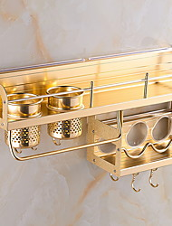 cheap -Kitchen Organization Rack & Holder Stainless Steel Easy to Use 1pc