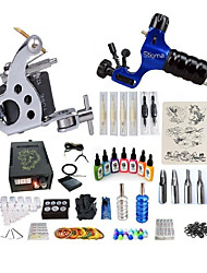 cheap -BaseKey Tattoo Machine Starter Kit - 1 pcs Tattoo Machines with 7 x 15 ml tattoo inks, Professional Level, Professional LCD power supply