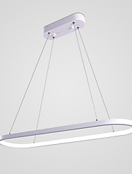 abordables -Chic & Moderne Lampe suspendue Lumière d'ambiance - Ampoule incluse, 110-120V 220-240V, Blanc Crème Blanc, Source lumineuse de LED incluse