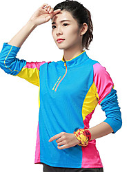 cheap -Women's Hiking T-shirt Outdoor Fast Dry Quick Dry Sweat-Wicking Breathability T-shirt N/A Camping / Hiking Outdoor Exercise Multisport