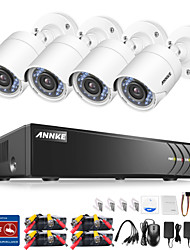 cheap -4 Channel 1080P (1920*1080) 4pcs 1080p Bullet 3.6 No