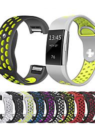 baratos -Pulseiras de Relógio para Fitbit Charge 2 Fitbit Pulseira Esportiva Silicone Tira de Pulso