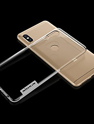 abordables -Nillkin Coque Pour Xiaomi Redmi Note 5 Pro Ultrafine / Transparente Coque Couleur Pleine Flexible TPU pour Xiaomi Redmi Note 5 Pro