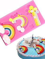 cheap -Bakeware tools Silicone Creative Kitchen Gadget / DIY For Cupcake / For Chocolate / Cake Cake Molds 1pc