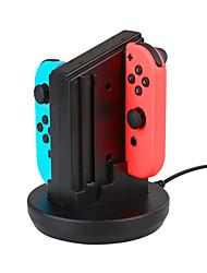 baratos -Switch Com Fio Carregador Para Nintendo Interruptor PS4,ABS Carregador # USB 2.0
