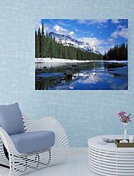 Недорогие -Наклейка на стену Декоративные наклейки на стены Напольные наклейки - Простые наклейки 3D наклейки Пейзаж Цветочные мотивы / ботанический