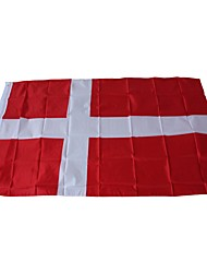 cheap -Holiday Decorations Sports Events World Cup national flag World Denmark 1pc