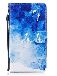 abordables -Coque Pour Huawei P10 Lite P8 Lite (2017) Porte Carte Portefeuille Avec Support Clapet Motif Coque Intégrale Animal Dur faux cuir pour