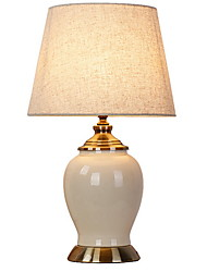 cheap -Traditional / Classic Decorative Table Lamp For Ceramic White
