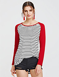 cheap -Women's Cotton Shirt - Striped
