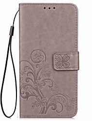 cheap -Case For Sony Xperia XZ2 Xperia L2 Flip Embossed Full Body Cases Mandala Butterfly Hard PU Leather for Sony Xperia Z2 Sony Xperia Z3 Sony