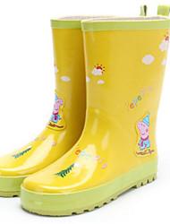 Недорогие -Мальчики / Девочки Обувь Резина Осень / Зима Резиновые сапоги Ботинки для Желтый / Синий