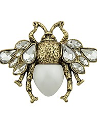 cheap -Women's Brooches - Bee Basic, Fashion Brooch White / Red For Daily / Date
