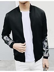 Недорогие -Муж. Куртка Уличный стиль - Человек