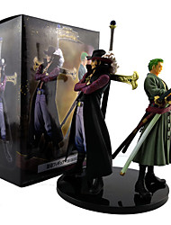 cheap -Anime Action Figures Inspired by One Piece Dracula Mihawk Roronoa Zoro PVC 20cm CM Model Toys Doll Toy