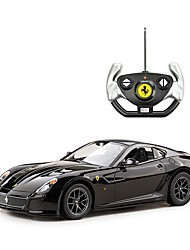 baratos -Carro com CR Rastar RC Car Ferrari 599 GTO 2.4G Urbano / Drift Car 1:14 Electrico Não Escovado 8.2 km/h