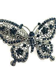 Недорогие -Жен. Простой / Элегантный стиль Заколка - С бабочками Сплав, Однотонный