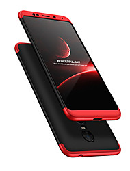 Недорогие -Кейс для Назначение Xiaomi Redmi 5 Plus Защита от удара Чехол Однотонный Твердый ПК для Xiaomi Redmi 5 Plus