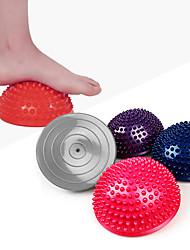 baratos -Bola para Exercícios / Bola de Fitness / Bolas de Massagem Massgem, Ponto de gatilho Apoio, suporte Com Massgem Para Treinamento / Equilíbrio