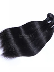 cheap -Indian Hair Straight Headpiece 3 Bundles Human Hair Weaves Smart Human Hair Extensions Women's