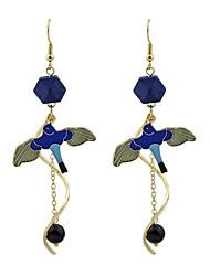 cheap -Women's Drop Earrings - Imitation Tourmaline Bird Fashion Gold For Gift / Date