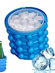 cheap -Ice Bucket & Wine Cooler Silica Gel, Wine Accessories High Quality CreativeforBarware 13*13*14cm cm 0.35kg kg Cup Warmer Ice High Quality