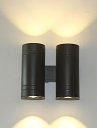 baratos -Estilo Mini / Impermeável LED / Moderno / Contemporâneo Sala de Estar / Quarto / Cozinha Metal Luz de parede 110-120V / 220-240V 12W