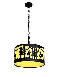 Недорогие -JLYLITE Художественный Ретро Подвесные лампы Рассеянное освещение - Мини, 110-120Вольт 220-240Вольт Лампочки не включены