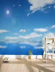 Недорогие -фреска холст Облицовка стен - Клей требуется Ар деко Рисунок 3D