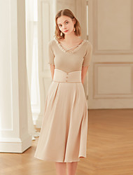 preiswerte -Damen Retro A-Linie Röcke - Solide