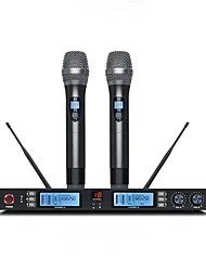 cheap -KAXISAIER NE60 Wireless Microphone Kit Dynamic Microphone Outfits For Karaoke Microphone