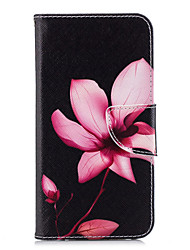 cheap -Case For Huawei P20 lite P20 Card Holder Wallet with Stand Flip Pattern Full Body Cases Flower Hard PU Leather for Huawei P20 lite Huawei