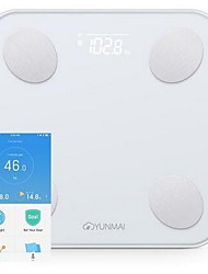 cheap -YUNMAI XIAOMI Smart Mini Body Fat Scale Body Weight Scales with LED Display Lose weight HD 1pack Glass ABS Bluetooth APP Home