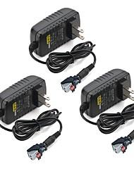 baratos -ZDM® 3pçs 100-240V EU US Acessório Light Strip Alimentação Plástico para luz de tira do diodo emissor de luz 36W