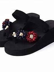 cheap -Women's Shoes EVA Summer Comfort Sandals Wedge Heel Blue / Light Blue / Light Pink