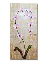 Недорогие -styledecor® современная ручная роспись абстрактная веточка розовой масляной живописи на холсте для настенного искусства, готовая повесить искусство