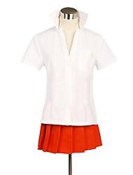 economico -Ispirato da Dangan Ronpa Cosplay Anime Costumi Cosplay Abiti Cosplay Altro Manica corta Top Gonna Per Unisex