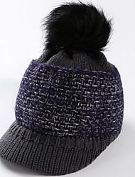 cheap -Skull Cap Beanie Autumn / Fall / Winter Windproof Women's Knit Fashion