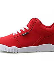 cheap -Men's PU(Polyurethane) Spring / Fall Comfort Sneakers Red / Blue / Black / White