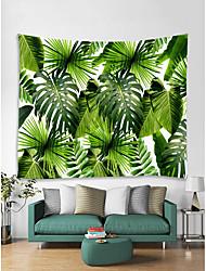 abordables -Thème jardin Paysage Décoration murale Polyester Moderne Art mural, Tapisseries murales Décoration