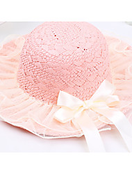 Недорогие -шляпы для девочек&колпачки, весна падение полиэстер хаки бежевый покраснение розовый белый зеленый