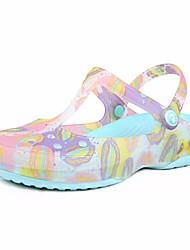 povoljno -Žene Cipele TPU Ljeto Gumene sandale Papuče i japanke Niska potpetica za Kauzalni Vanjski Crvena Svjetlo ljubičasta Svijetlo zelena