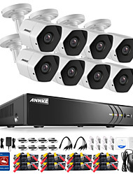 cheap -8 Channel 1080P (1920*1080) 8pcs 3.0 Bullet 30 No